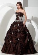 Brown Quinceanera Dresses