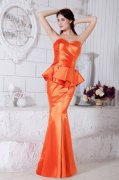 Orange Red Party Dresses