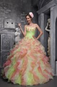 Multi-colored Quinceanera Dresses