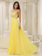 Yellow Homecoming Dresses