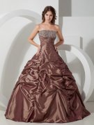Chocolate Quinceanera Dresses