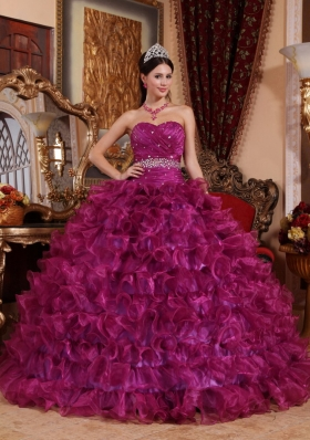 Fuchsia Quinceanera Dresses,fuschia Quinceanera Ball Gowns