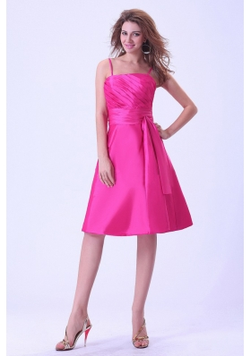 bridesmaid dresses spaghetti strap taffeta floor length