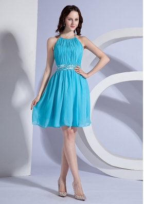 Aqua Blue Cocktail Dresses | Aqua evening nightclub party ...