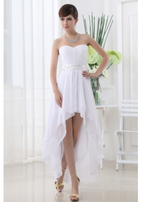 Short wedding dresses high low wedding dresses unique for High low wedding dress patterns