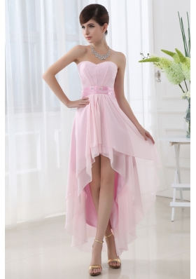 Light Pink High Low Prom Dresses | www.pixshark.com ...