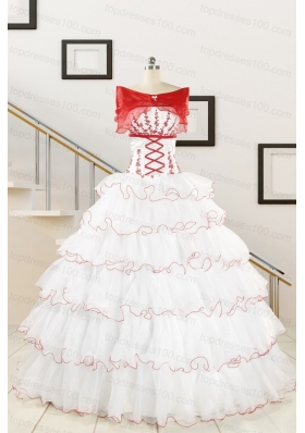 Popular White Sweet 16 Dresses with Appliques