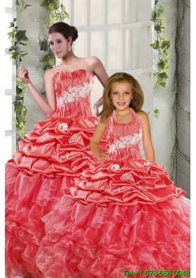 Brand new Sweetheart Beading Princesita Dresses in Watermelon