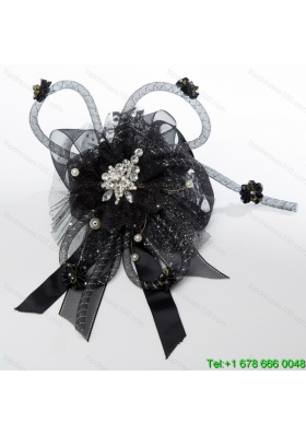 2014 New Arrival Fascinators with Beading Imitation Pearls and Rhineston