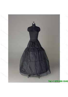 Unique Organza Ball Gown Floor length Black Petticoat