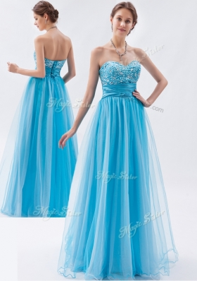Classical Empire Sweetheart Beading Fashion Evening Dresses  for Pageant