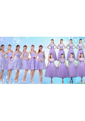 New Arrival Summer Bridesmaid Dresses in Lavender for 2017