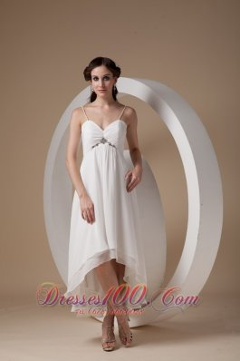 One Shoulder Plus Size Wedding Dresses Beach