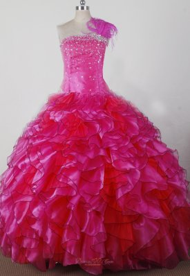 Exquisite Beading and Ruffles Ball Gown Little Girl Pageant Dress Strapless Floor-length  Pageant Dresses