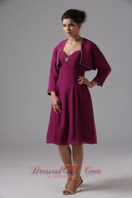 Discount Sweetheart Burgundy Bridesmaid Dress Chiffon In Capitola California With Knee-length