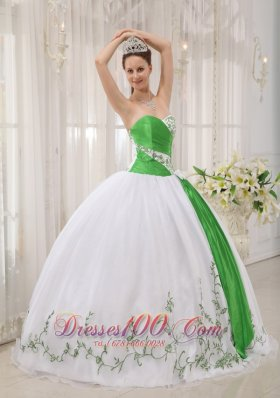 Popular Cute White Quinceanera Dress Strapless Ruffles Organza and Zebra Ball Gown
