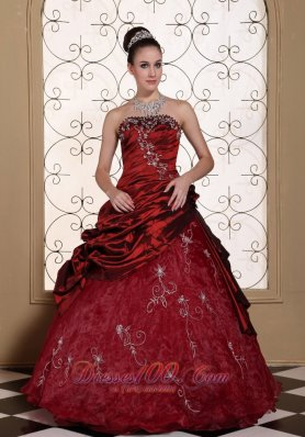 Burgundy Quinceanera Dresses,Dark Red Quince anera Gowns