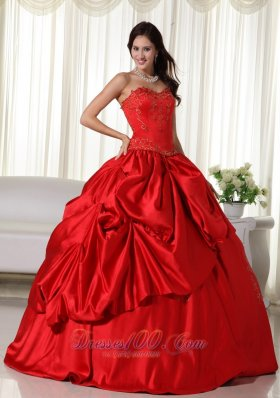 Where to Buy Red Quinceanera Dresses, Low Price Red Quinceanera ...