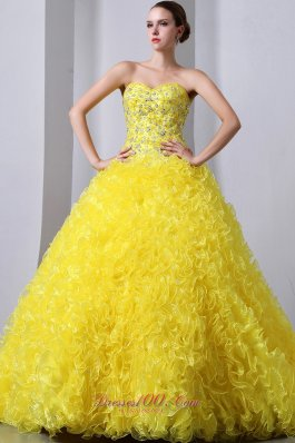 Yellow Quinceanera Dresses,Bright yellow quinceanera dresses