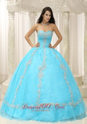 Light Blue Quinceanera Dresses,Aqua Blue Quince Ball Gowns