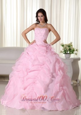 Baby Pink Quinceanera Dresses,Light Pink Quinceanera Gowns