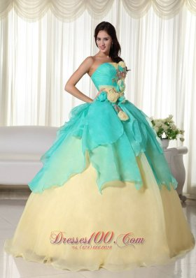 Turquoise Quinceanera Dresses,Ball Gowns in Turquoise Color