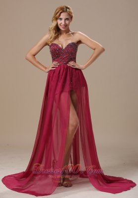 2013 Sweetheart Beaded Bodice and Chiffon In Tallahassee Florida For Prom Dress