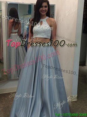 One Shoulder Red Sleeveless Tulle Zipper Prom Evening Gown for Prom and Party