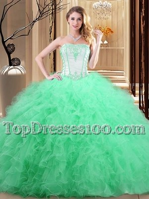 fca5ca3cafa Great Royal Blue Sleeveless Tulle Lace Up 15th Birthday Dress for Military  Ball and Sweet 16