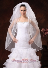 Beautiful Four-tier Organza Wedding Veils