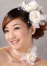 Elegant Fascinator Tulle Wedding and Outdoor Imitation Pearls
