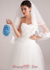 Pretty Blue Wedding Bridal Bouquet With Pearl