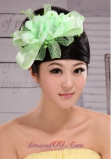Lovely Taffeta and Tulle Beading Women' s Fascinators For Party