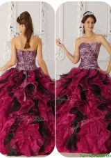 Cheap Ball Gown Floor Length Quinceanera Dresses in Multi Color