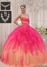 Cheap Ball Gown Strapless Quinceanera Dresses with Beading