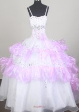 Sweet Little Girl Pageant Dresses With Beading and Ruffled Layers  Pageant Dresses