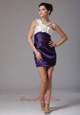 Wholesale Sheath V-neck Sweet Prom Homecoming Dress With Hand Made Flower In Idaho