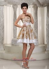 Sweetheart Colorful Cocktail Dress With Appliques Decorate Organza In Mobile Alabama