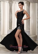 Fashion Beaded Decorate Sweetheart Black Custom Made Mother Of The Bride Dress For 2013