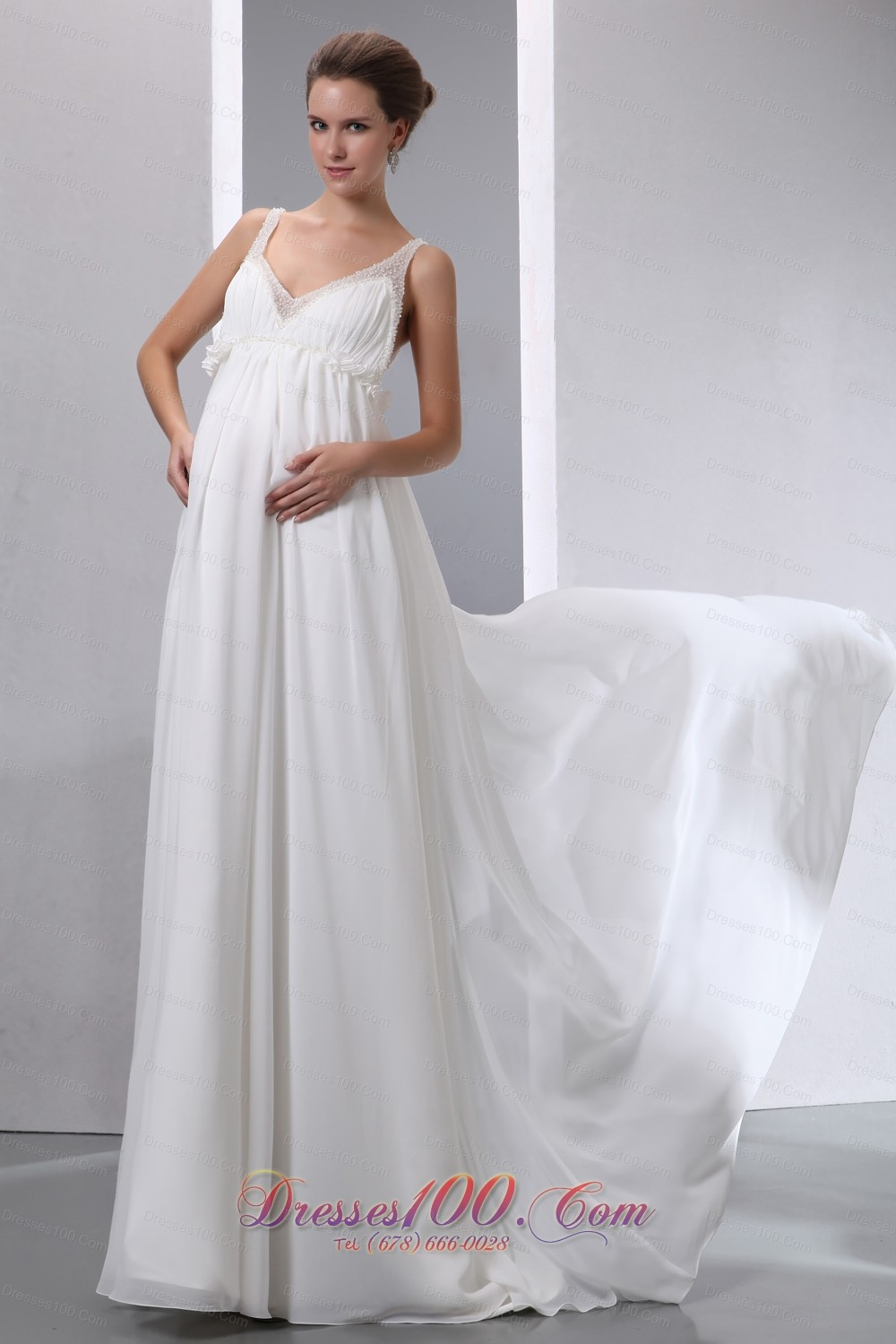 Simple Maternity Wedding Dresses - Gown And Dress Gallery