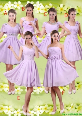 Discount A Line Lavender Dama Dresses with Beading